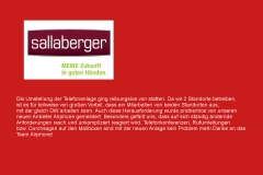 Sallaberger & Partner , Ried im Innkreis/Lambrechten Hr. Karl Sallaberger