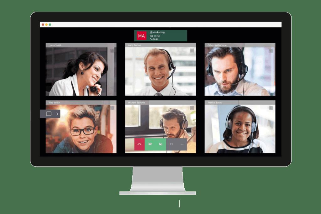 Airphone-Videokonferenzen